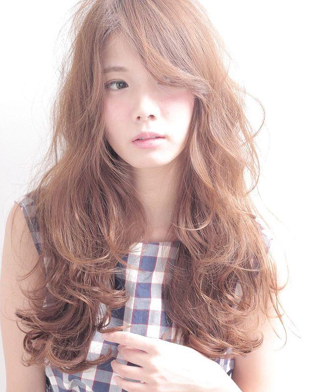 長め前髪スタイル6