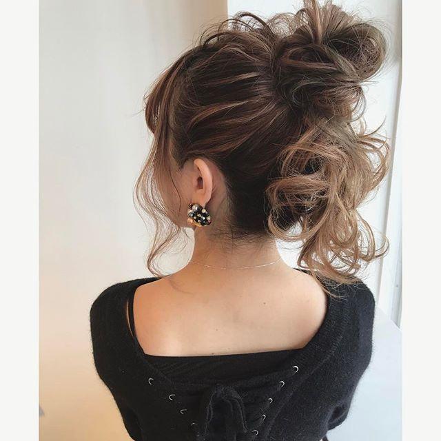 まとめ髪スタイル8