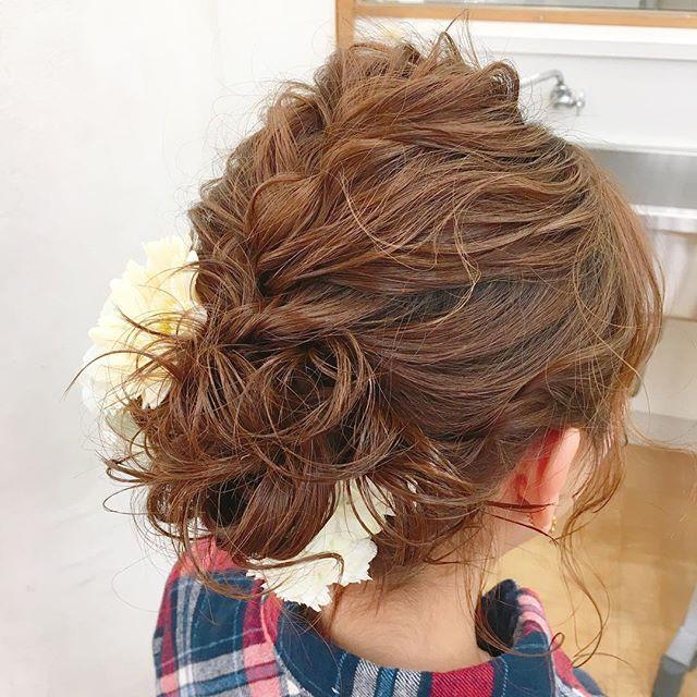 まとめ髪スタイル3