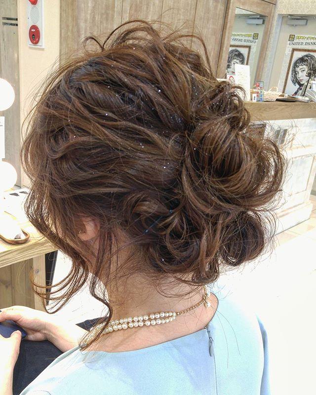 まとめ髪スタイル7