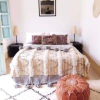あたたかさとインテリアを両立☆おしゃれなベッド&布団カバーで寝室を彩る