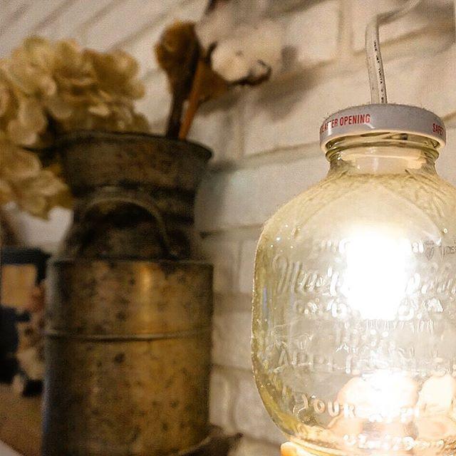 マルティネリの空き瓶で照明をDIY2