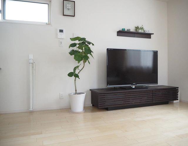 テレビボード 北欧インテリアの設置実例7