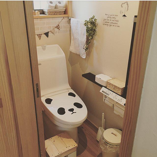トイレの蓋&タンクをリメイク3