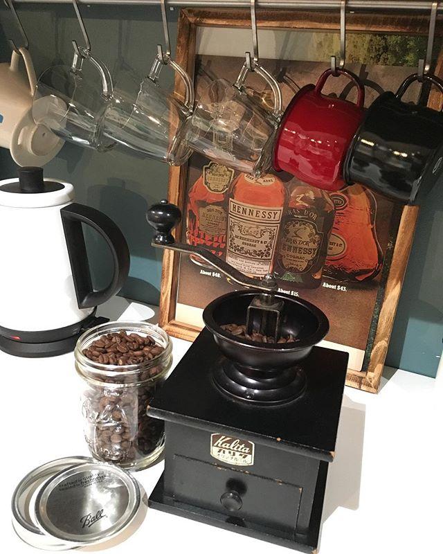 カリタのコーヒーミル