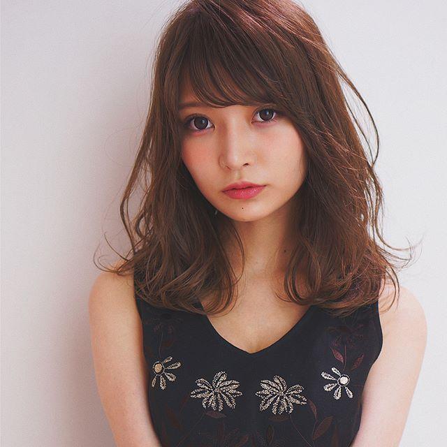 巻き髪スタイル11