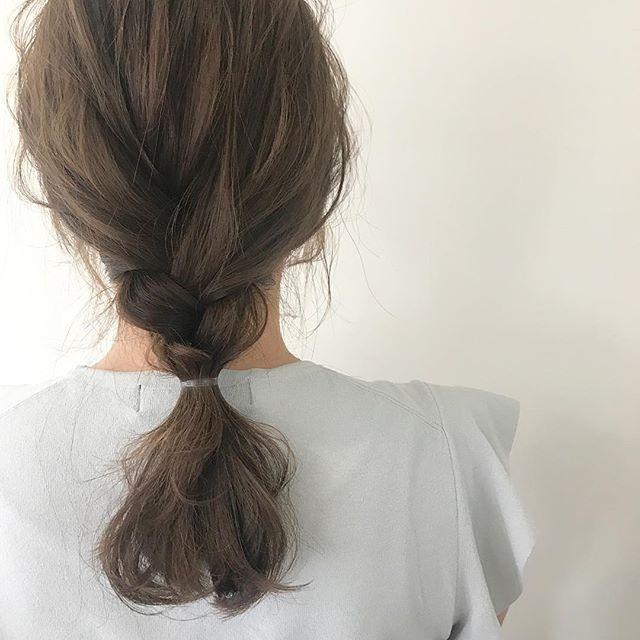 デートにぴったりな髪型・アレンジ3