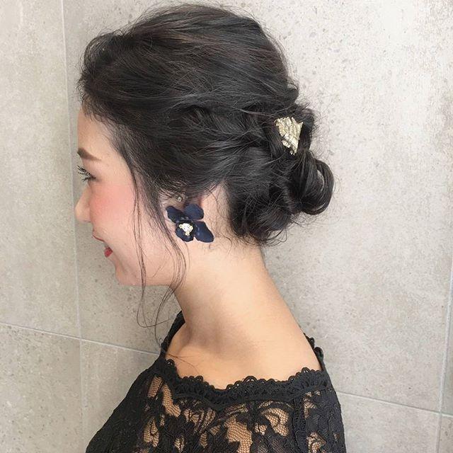 大人女子に似合うヘアアレンジ特集12