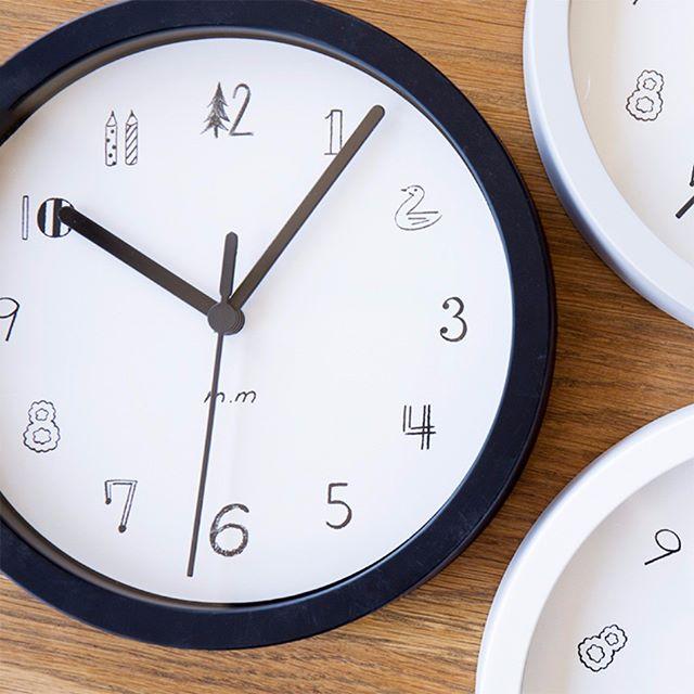 まだまだあります!個性的な壁掛け時計たち☆2