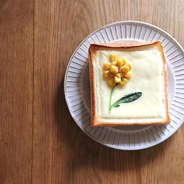 トーストアートで遊び心を