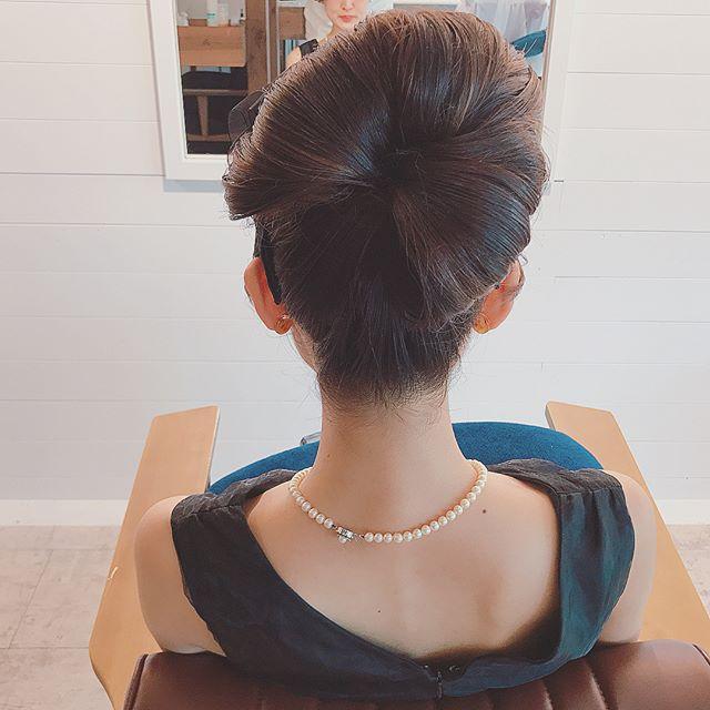 まとめ髪スタイル9