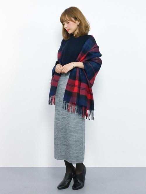 [reca] ◆レディース人気ランキング1位獲得◆全7色ウエストゴムリブスウェットスカート