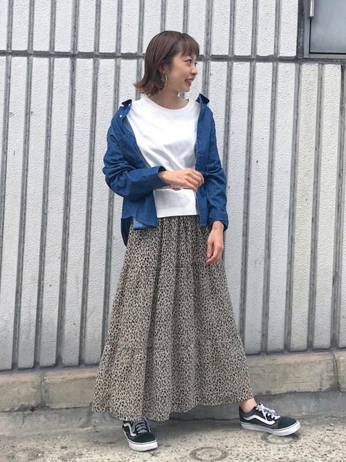[Discoat] ライトオンスデニムシャツ