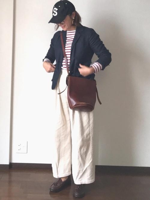 アウターでトラッドファッション9