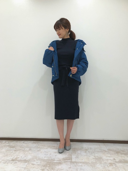 [Andemiu] ショートカラーダウンコート810061