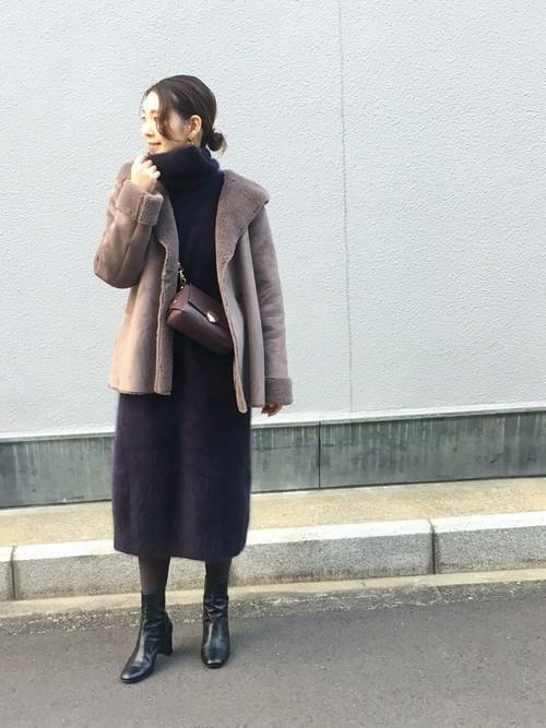 [URBAN RESEARCH ROSSO WOMEN] 【雑誌Oggi 12月号掲載】ombre ミドルブーツ