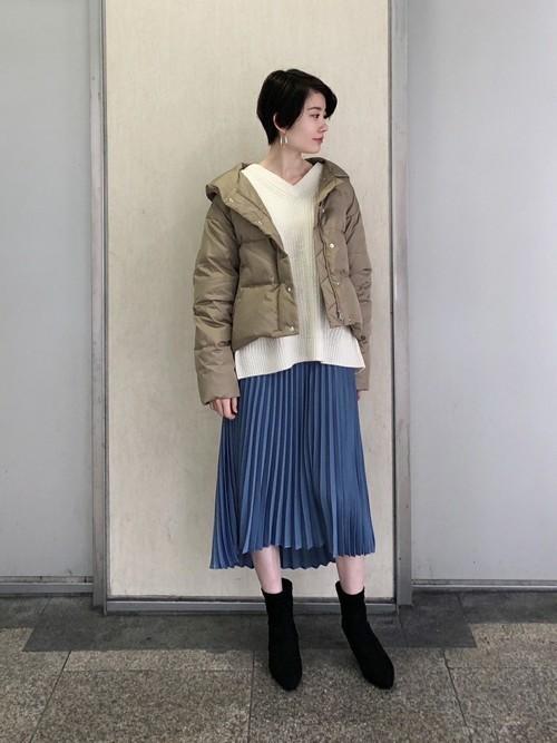 プリーツスカート6