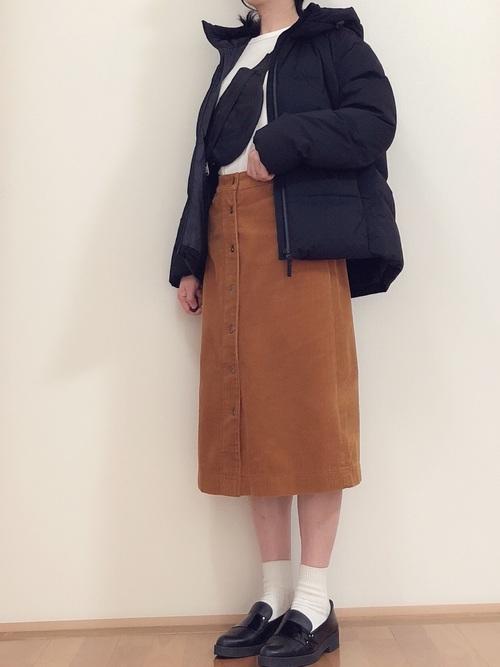 【ユニクロ・GU】のダウンジャケットを使った大人コーデ集7