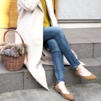 ベージュパンプスをコーデにプラス♡WEARで人気のお洒落な女性の着こなしは?