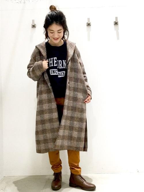アウターでトラッドファッション5