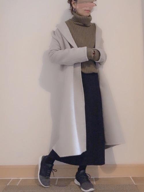 ユニクロのスカート2