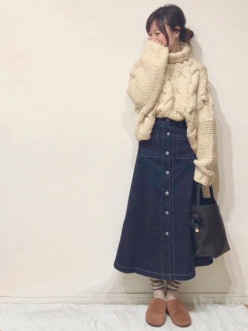 GUのスカート6
