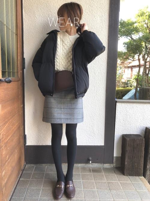 ユニクロのスカート7