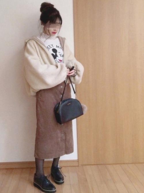 ユニクロのスカート6