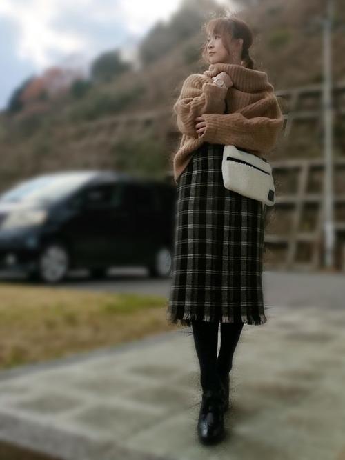 しまむらスカート4