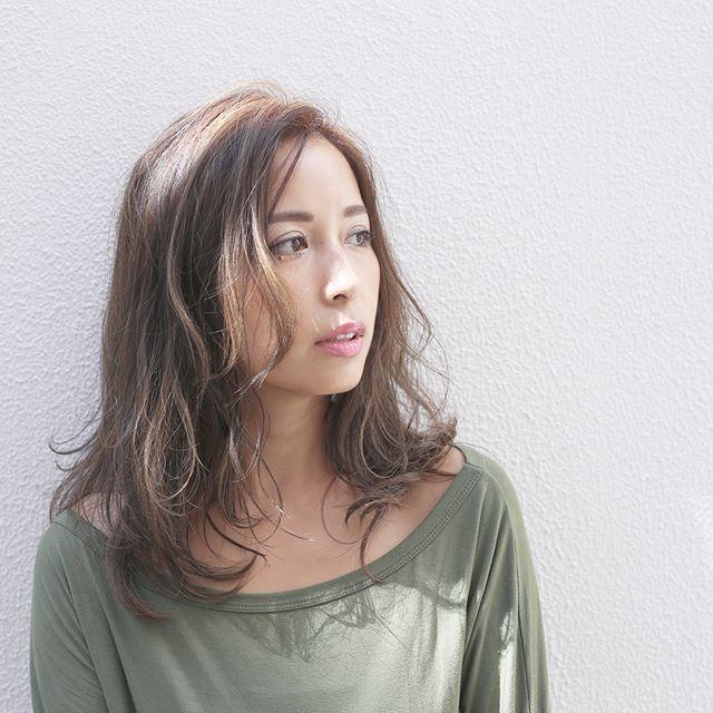 長め前髪スタイル5