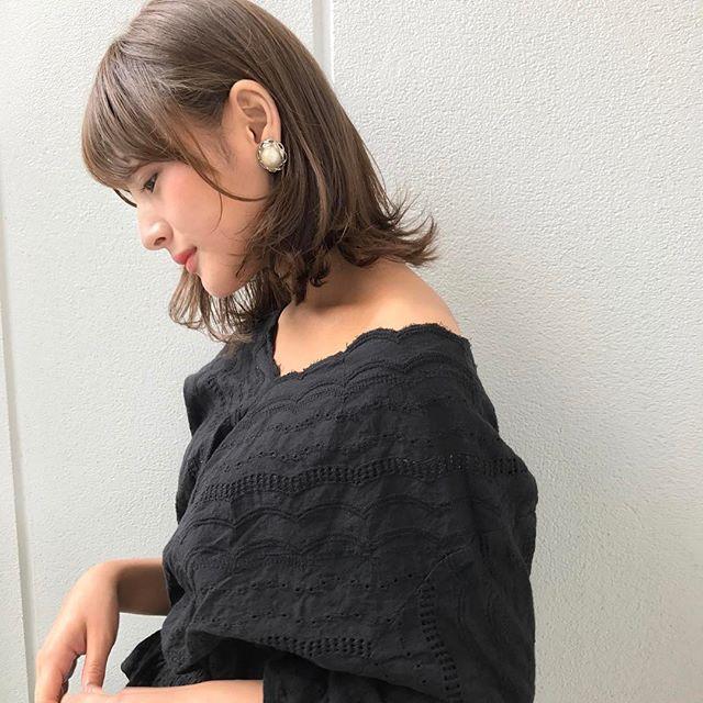 甘すぎない大人のモテ髪スタイル特集7
