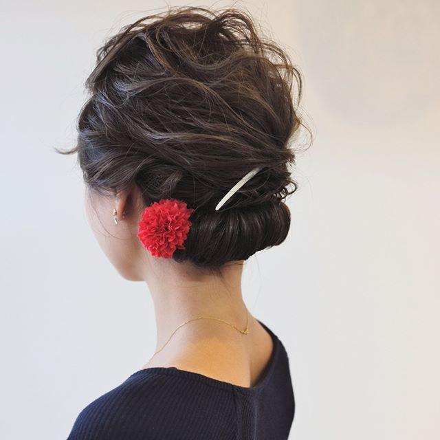 まとめ髪スタイル1
