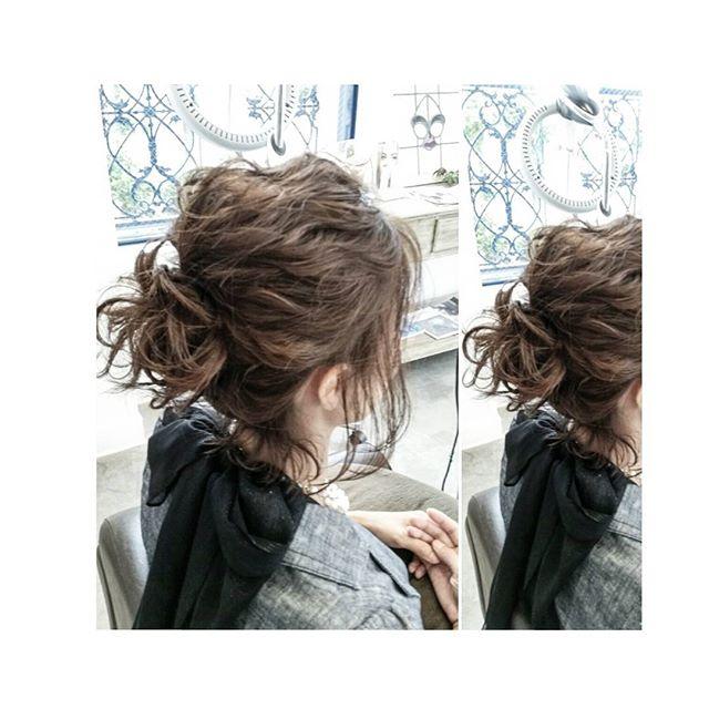 アップ&まとめ髪スタイル