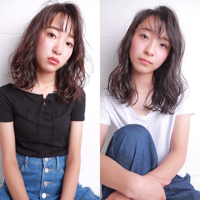 ミディアムパーマアレンジ特集☆58