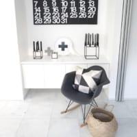 椅子を使った素敵なインテリア!椅子をディスプレイして絵になる空間を作ろう♡