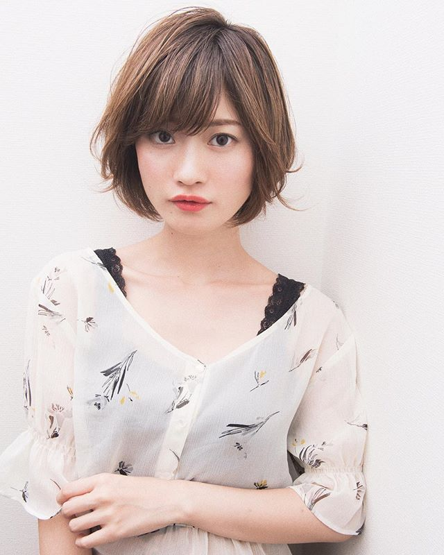 新垣結衣風ショートボブ4