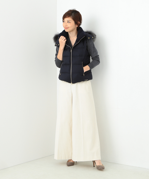 [BEAMS WOMEN] TATRAS / LUSERA ウールダウンベスト