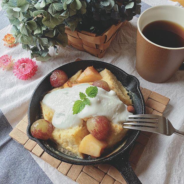 色鮮やかで食欲をそそる洋風の朝食5