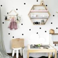 部屋をイメージチェンジ☆かわいい壁紙を使ったインテリアコーディネート