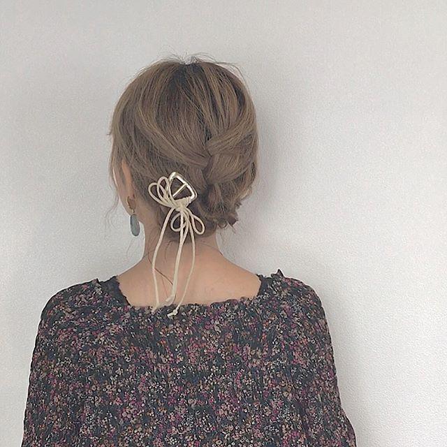 まとめ髪スタイル4