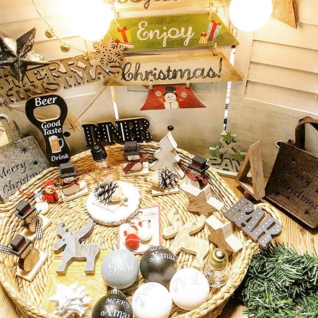 充実のクリスマス雑貨