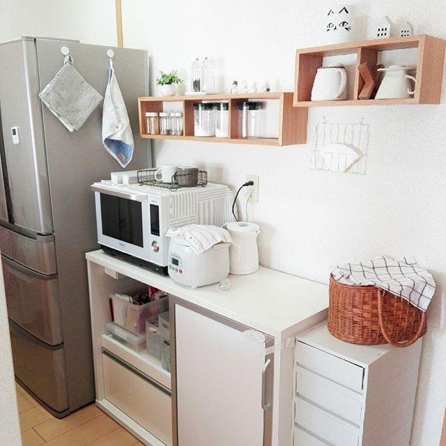 キッチン背面インテリア3