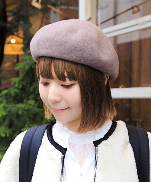 [14+(ICHIYON PLUS)] バスクベレー帽 / ber