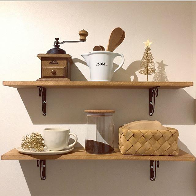 自宅にカフェコーナー