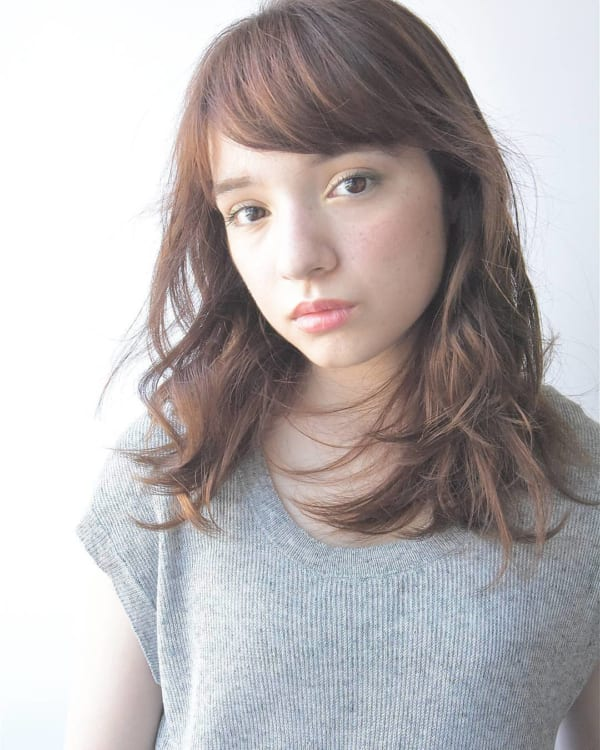 ミディアムパーマアレンジ特集☆57
