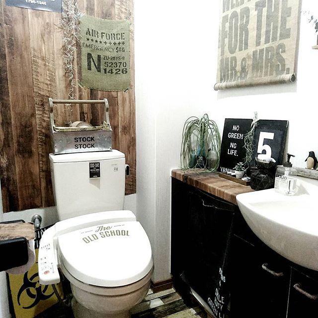 トイレの蓋&タンクをリメイク2