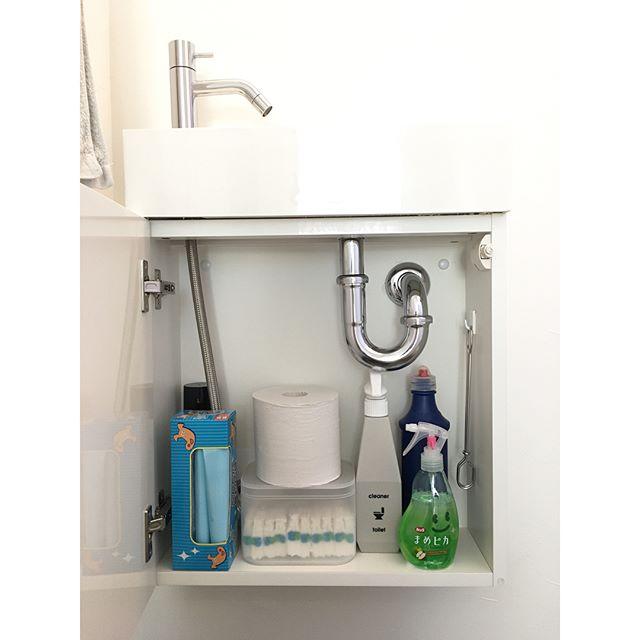 掃除道具のスッキリ収納アイデア6