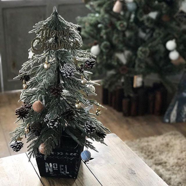 クリスマスツリーはマストアイテム