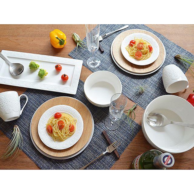 お料理女子におすすめのレース柄テーブルウェア