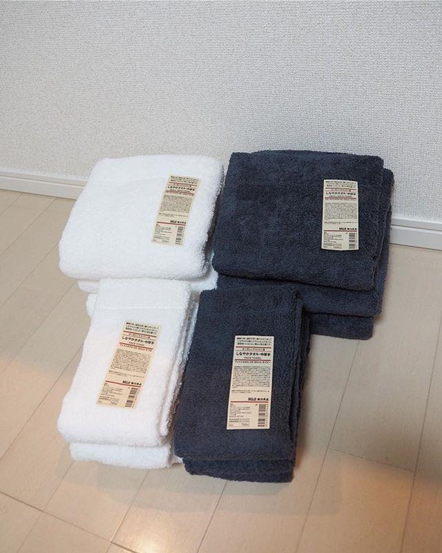 やっぱり頼れる「無印良品」のタオル